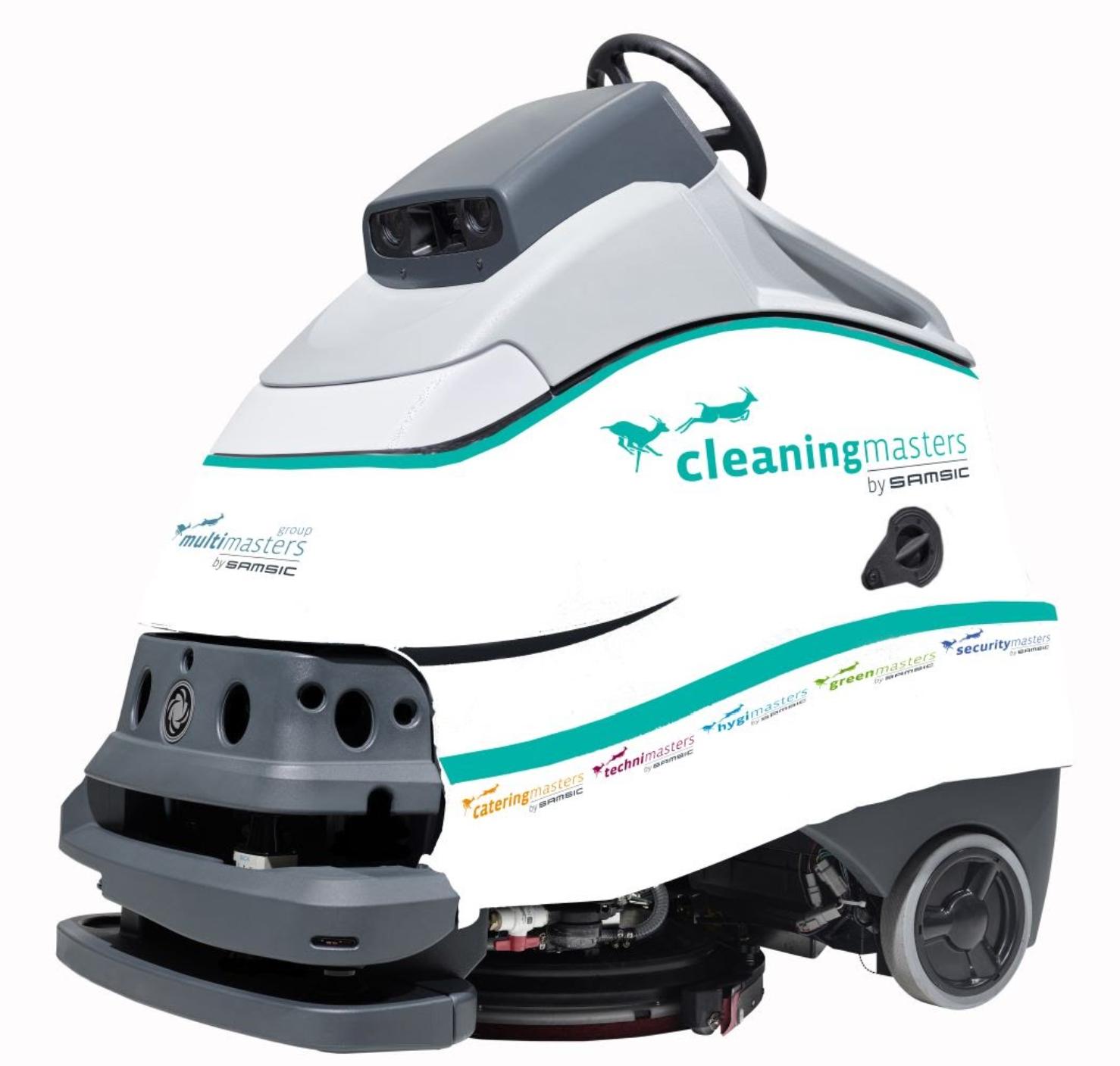 De Cleaning robot van Cleaning Masters is een innovatie die garant staat voor volautomatisch schoonmaken.